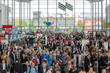 IFAT 2018 fair entrance