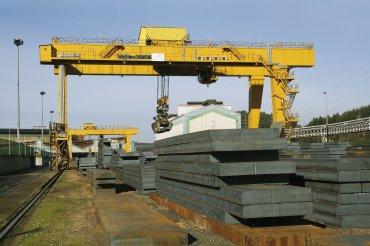 Grúa para siderurgia