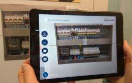 Apliación tablet armario eléctrico i4.0