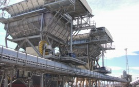 Grain handling port Tarragona