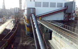 Estación de carga de trenes