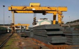 Gantry crane steel 175 t