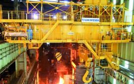 Steel industry crane Usiminas