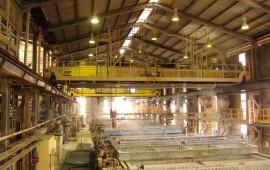 Модернизация кранового оборудования на заводе Hunstman Tioxide