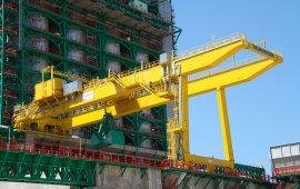 Oil & Gas gantry crane 32 t