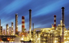 Suez Oil Processing Company refinery in Egypt