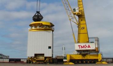 Erweiterung des Schüttgutbereichs im Hafen von La Coruña