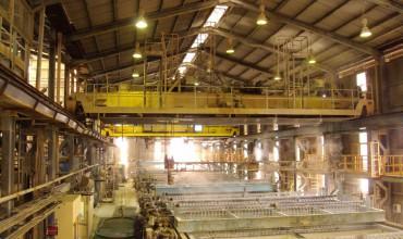Modernización de grúas en planta de Hunstman Tioxide