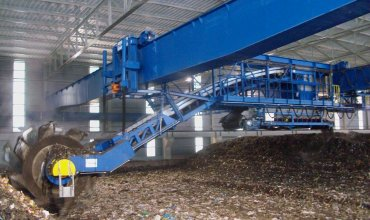 Los Hornillos waste processing and composting plant revamping