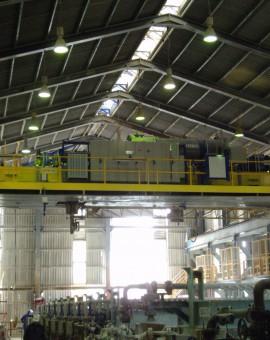 Cranes revamping at Hunstman Tioxide plant