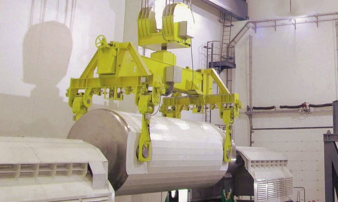 Crane for Nuclear Industry