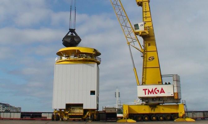 Ampliación zona de carga de graneles sólidos del Puerto de La Coruña